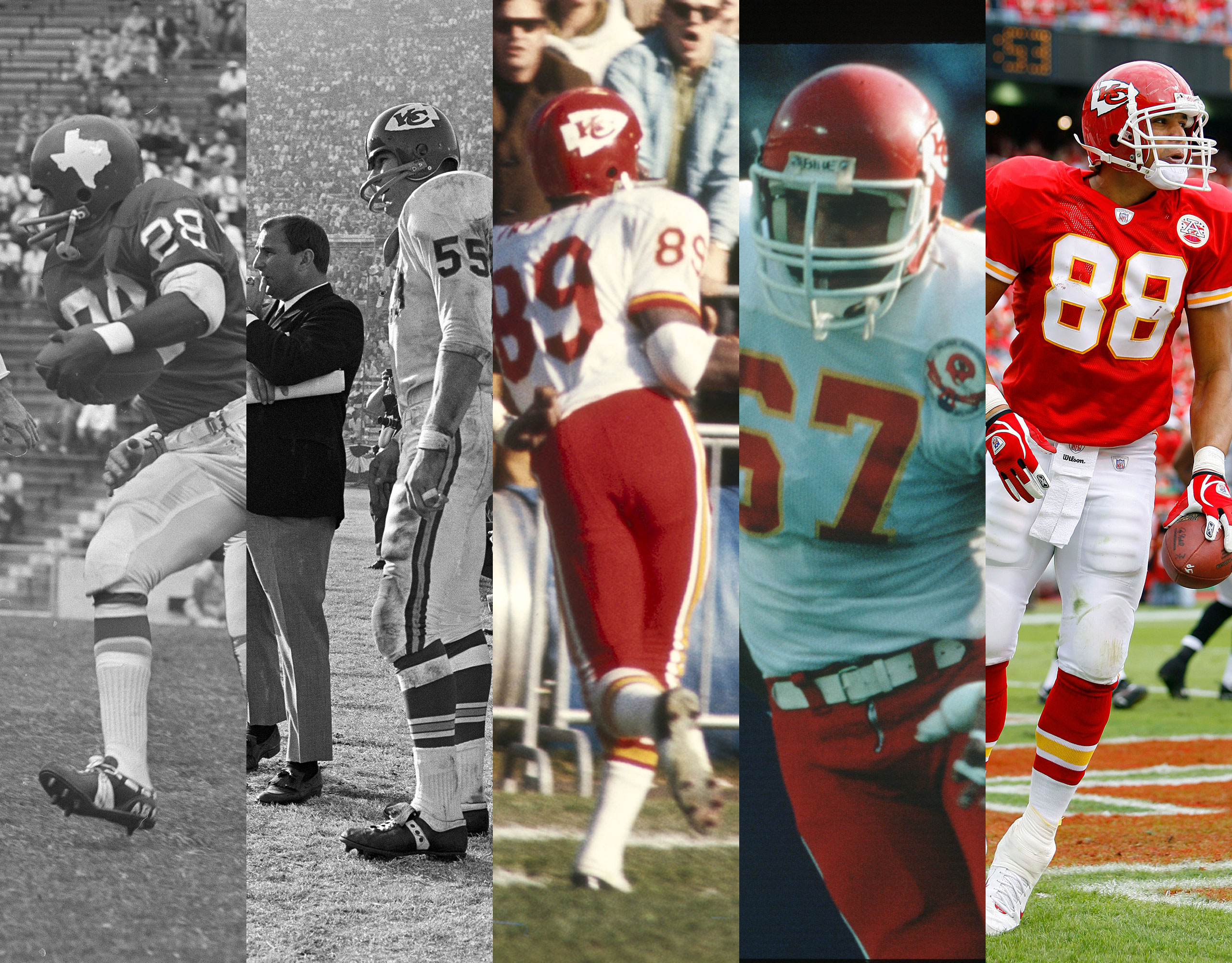 sports shoes 7ebb5 3a63e Chiefs Uniform History | Kansas City Chiefs - Chiefs.com