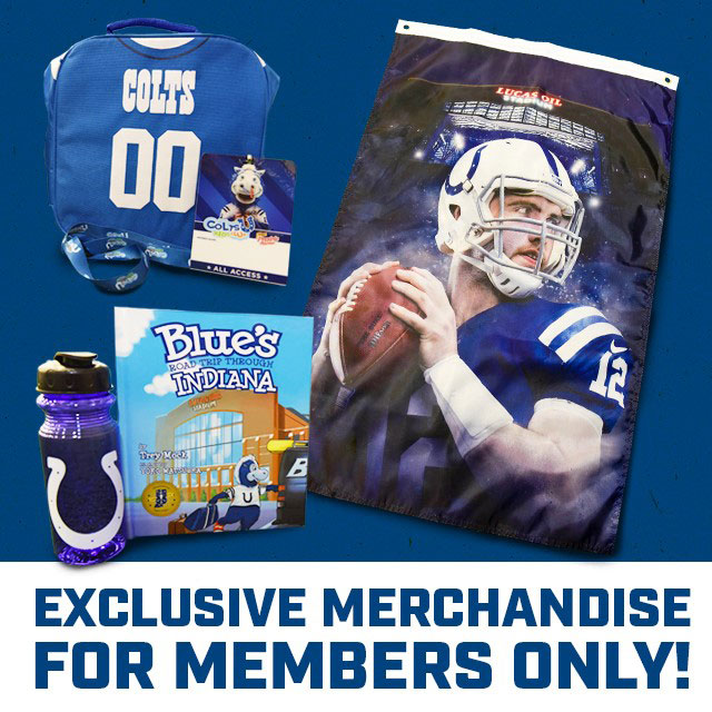 The Indianapolis Colts Kids Club!