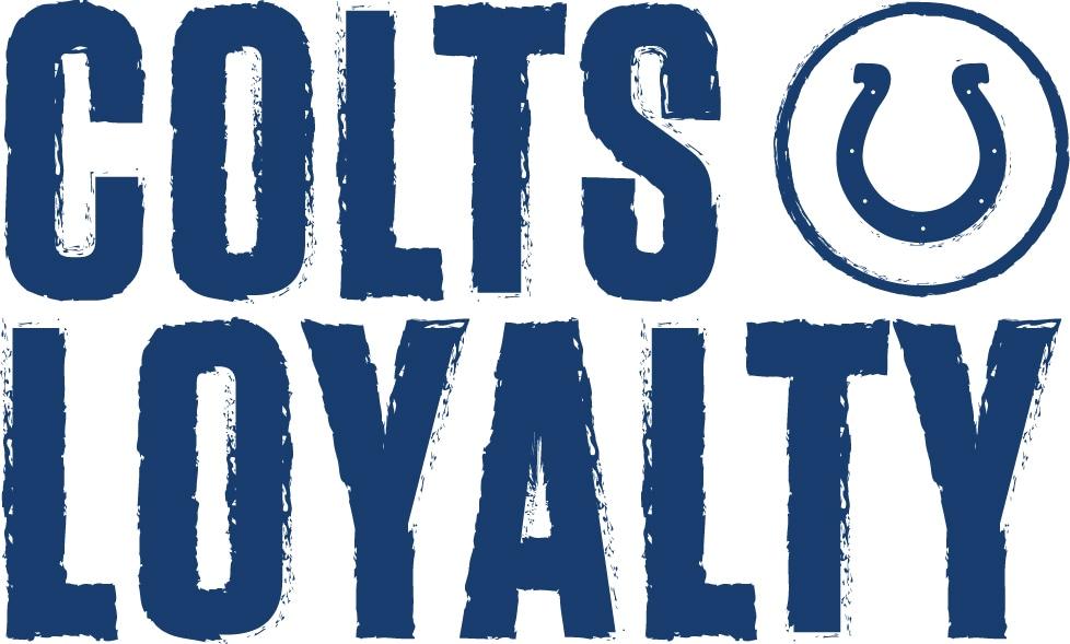 COLTS LOYALTY