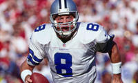 Troy Aikman: Quarterback, 1989-2000 Inducted: 2006