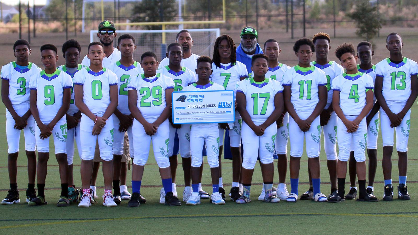 Youth Football Travel Grant