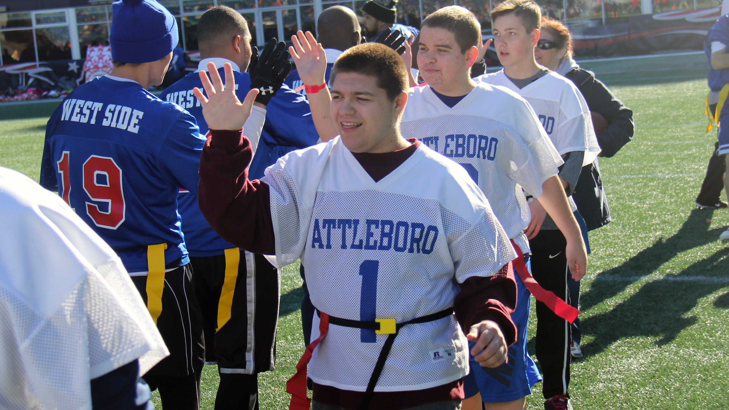 SPECIAL OLYMPICS OF MASS. FLAG FOOTBALL & CHEERING STATE GAMES