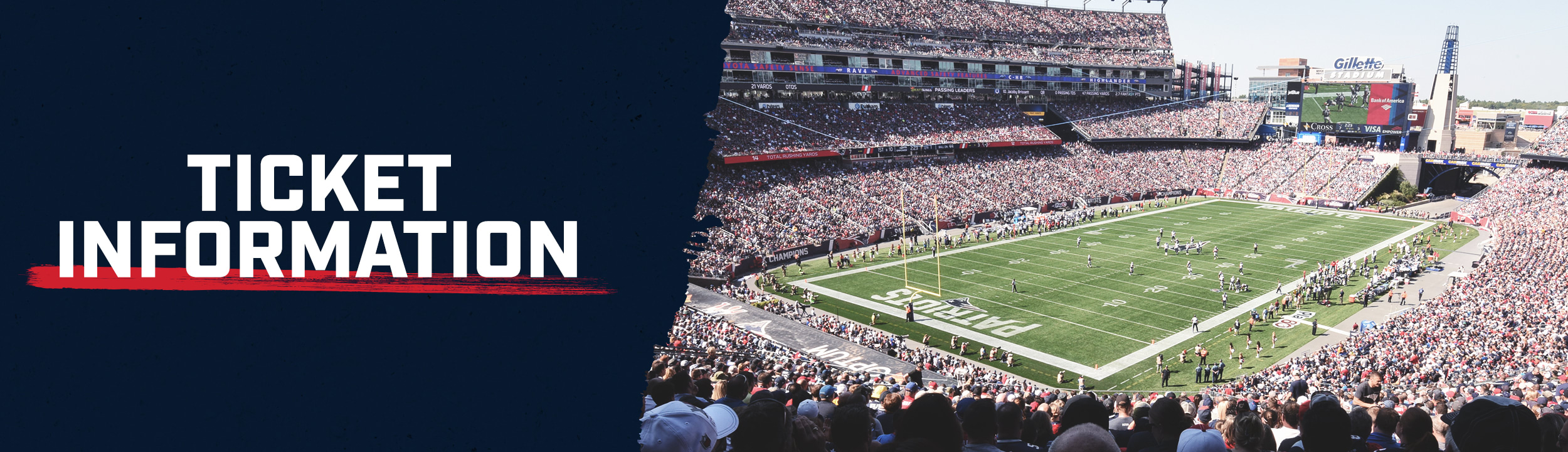 Official website of the New England Patriots