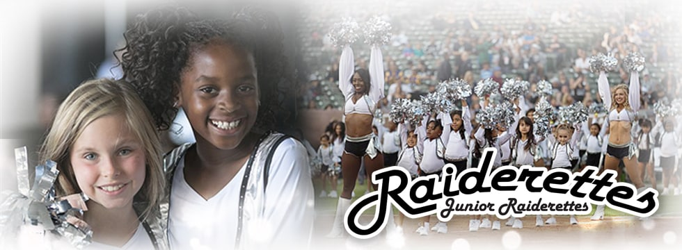 Sign up for Junior Raiderettes info