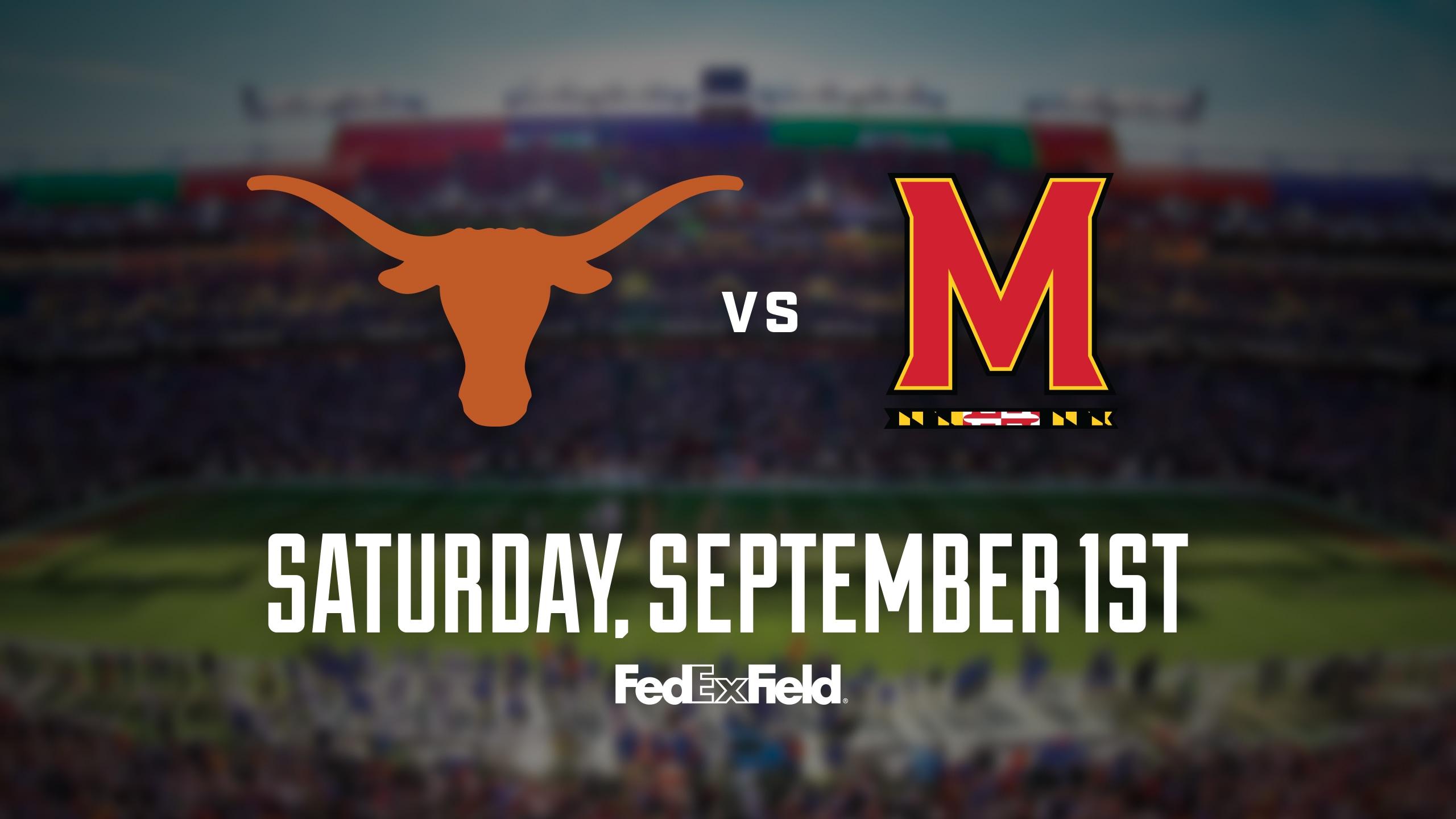 Texas Longhorns vs. Maryland Terrapins