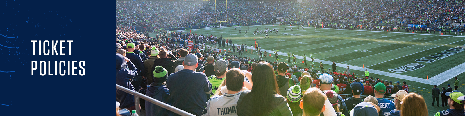 Discount Seattle Seahawks Ticket Policies | Seattle Seahawks  supplier