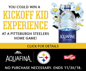 Win a Kickoff Kid Experience at a Pittsburgh Steelers Home Game