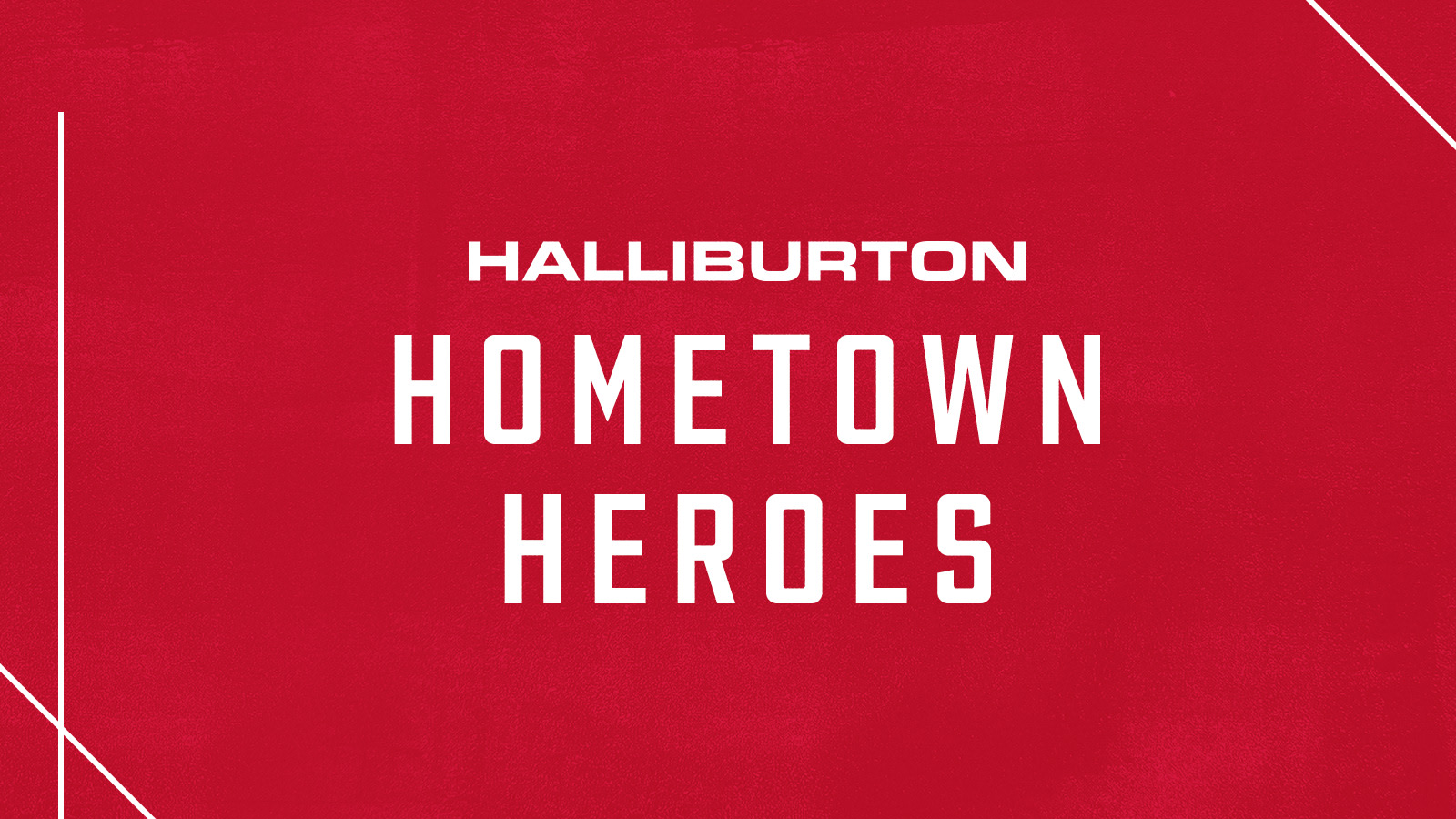 Through The Halliburton Hometown Hero Program Members Of Greater Houston Community Are Invited To Nominate A Local Charity That Is Going Above And