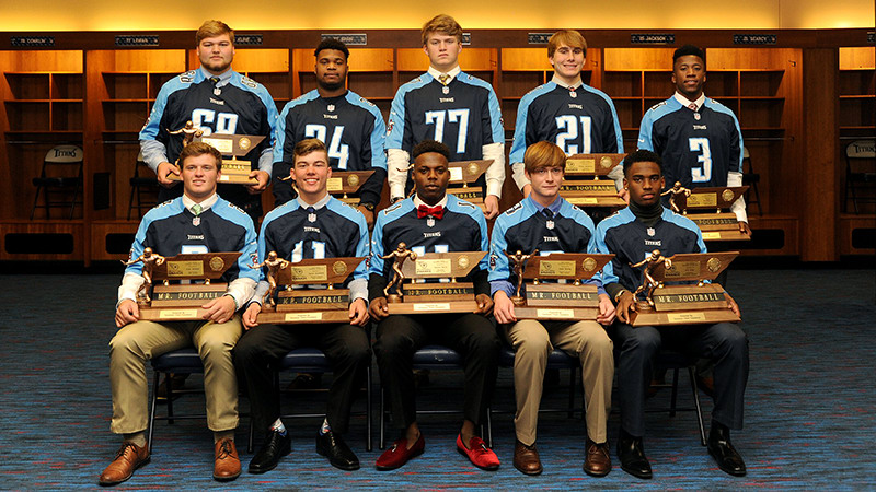 Tennessee Titans Mr. Football Awards