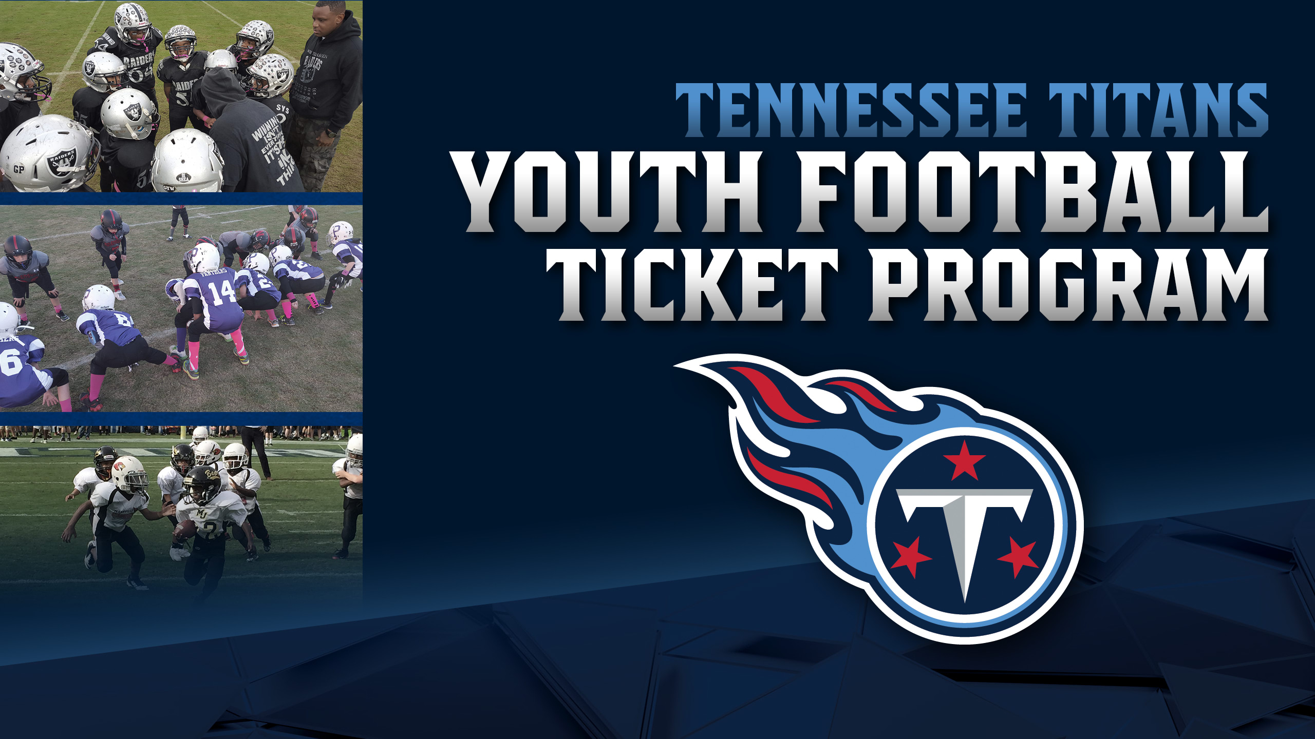 Youth Football Ticket Program