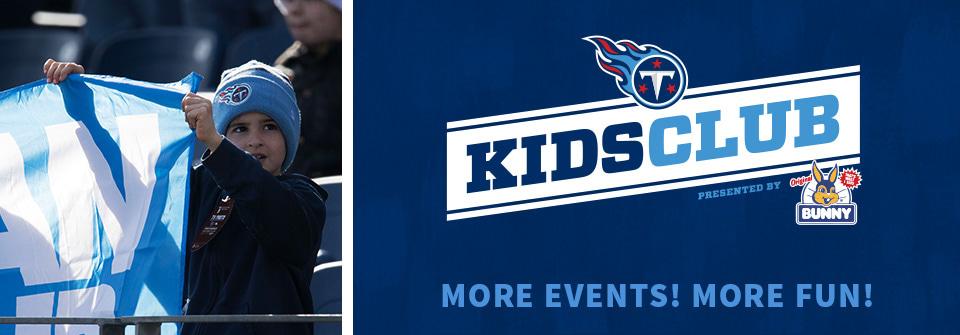 Tennessee Titans Kids Club