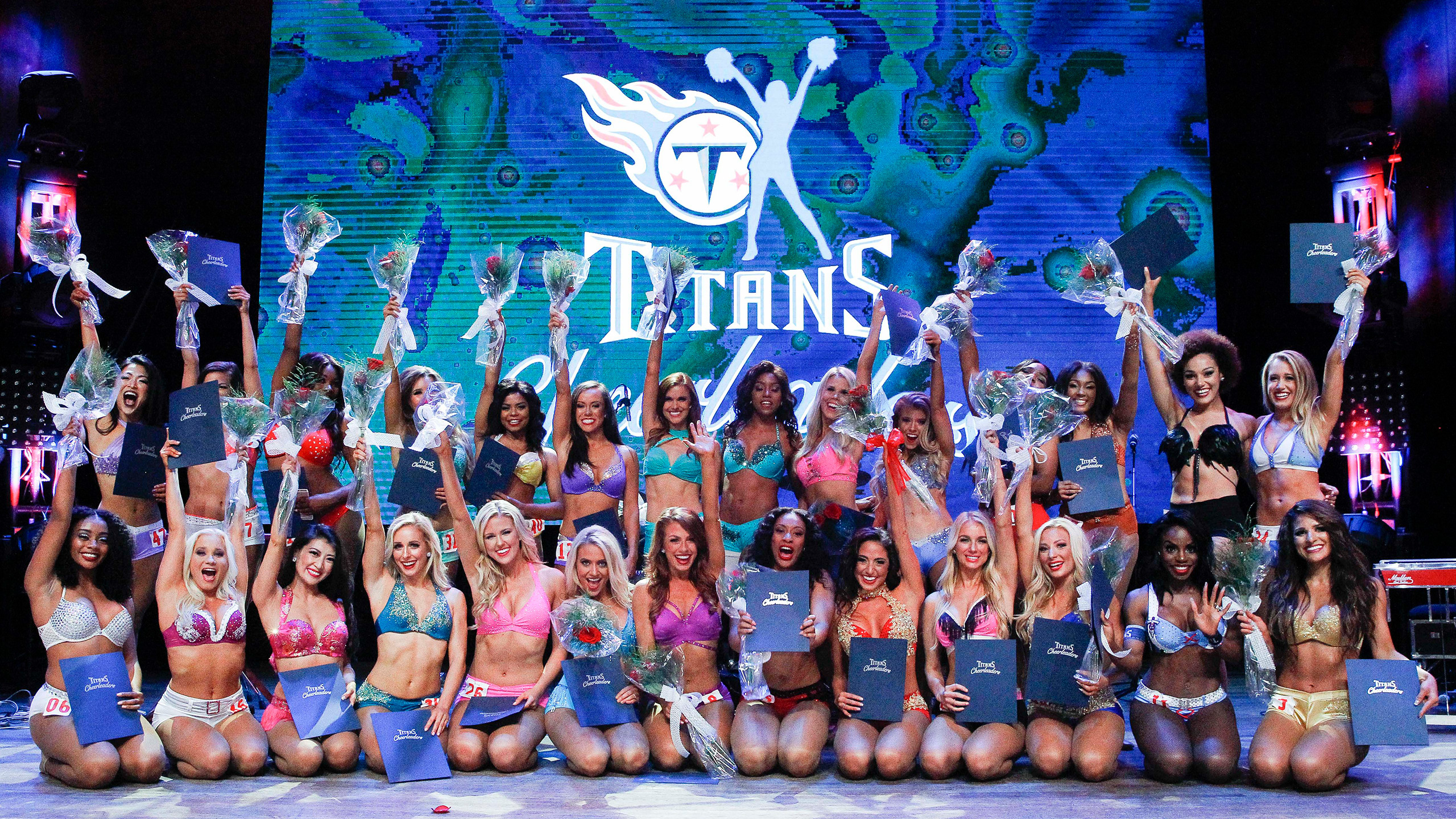 Your 2018 Tennessee Titans Cheerleaders!