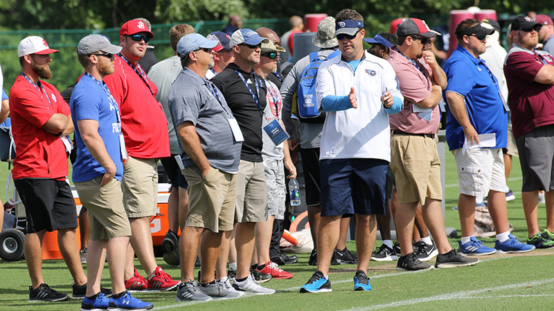 Tennessee Titans High School Coaches Clinic