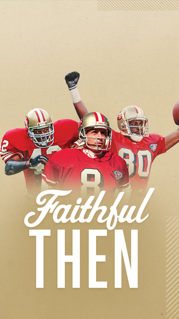 Faithful Then Banner Wallpaper