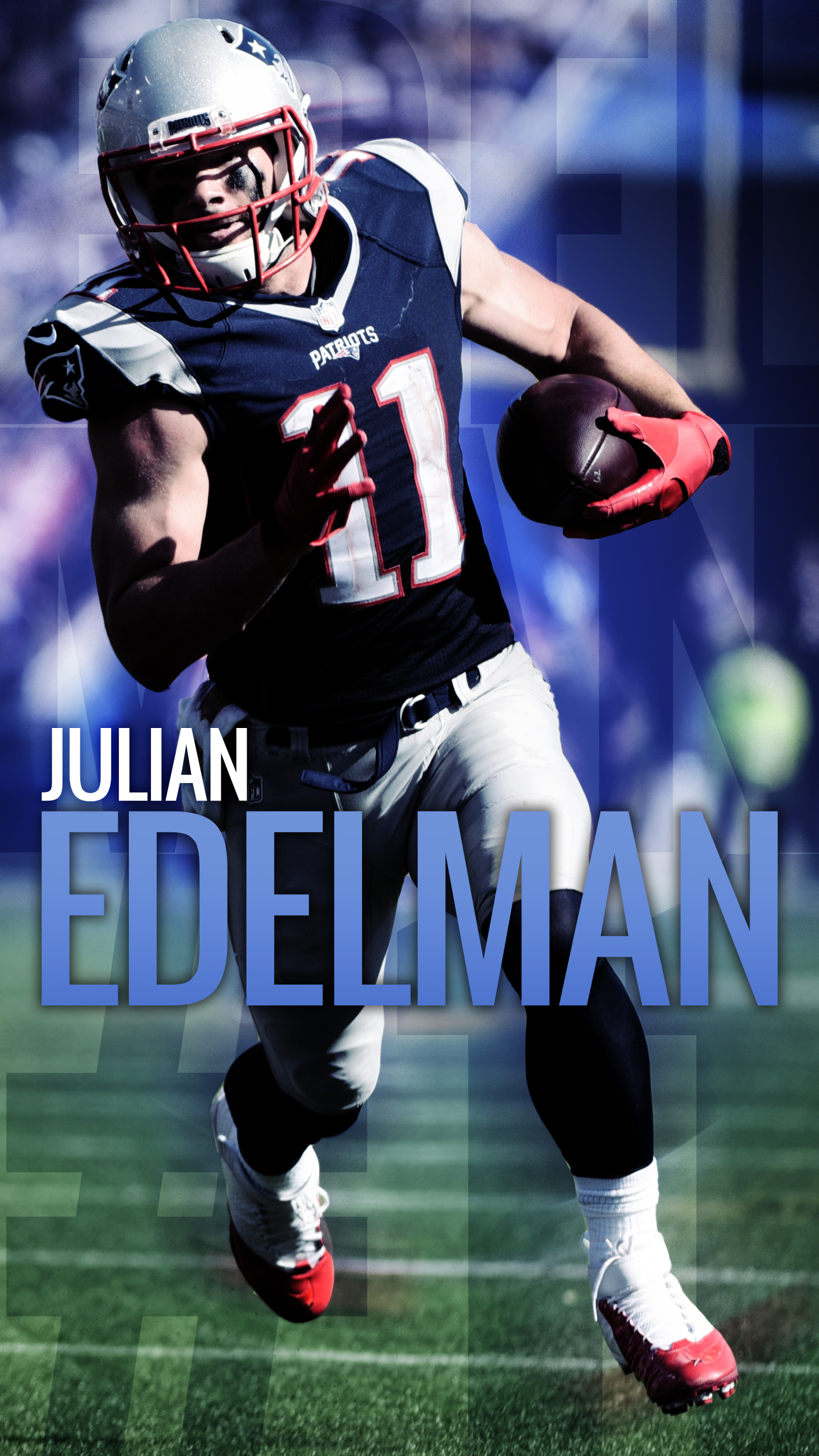 Julian Edelman IPhone Android Plus