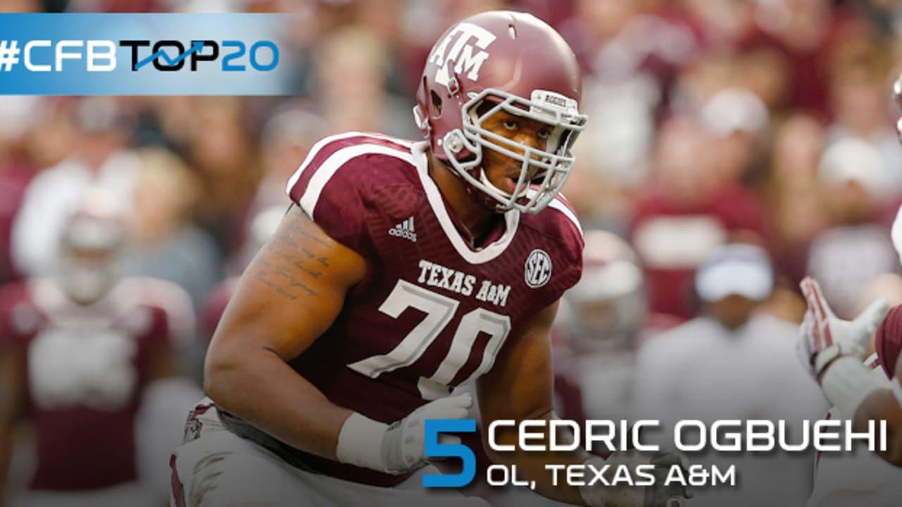 CFBTop20: No. 5, Texas A&M OT Cedric Ogbuehi