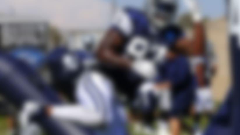 Rookie Taco Charlton battles highs, lows at Cowboys camp