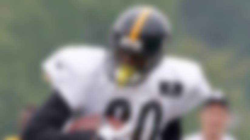 Plaxico Burress tears rotator cuff in Steelers' practice