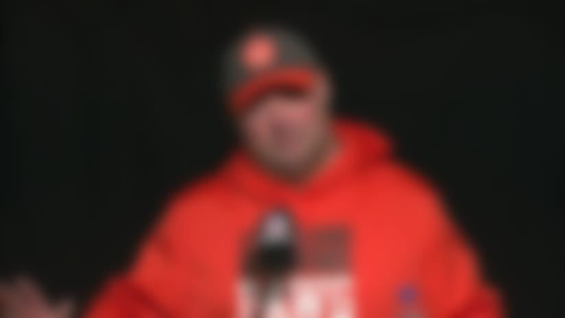 Freddie Kitchens comments on job security after Week 17 loss