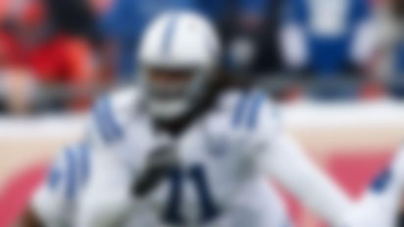 Colts' Xavier Nixon misses team flight, out vs. Patriots
