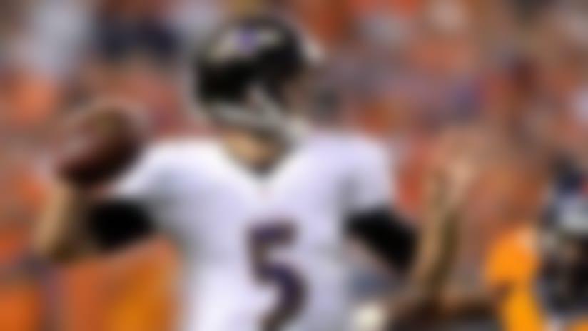 Joe Flacco picks up where he left off for Ravens