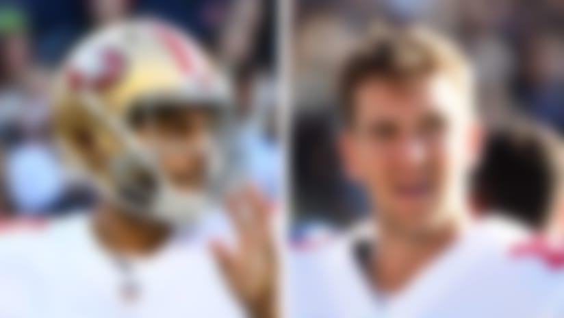 Jimmy Garoppolo and Eli Manning