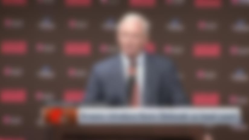 Jimmy Haslam explains process of hiring Kevin Stefanski