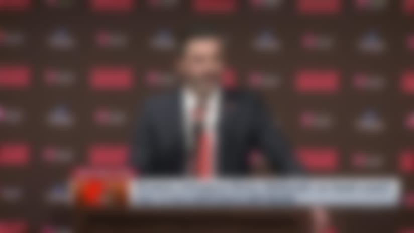 Browns introduce Kevin Stefanski as head coach