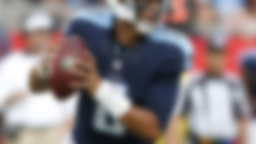 Marcus Mariota sets records in career debut