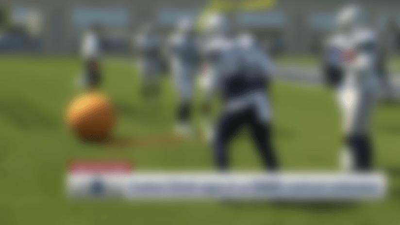 First look: Ezekiel Elliott returns to Dallas Cowboys practice