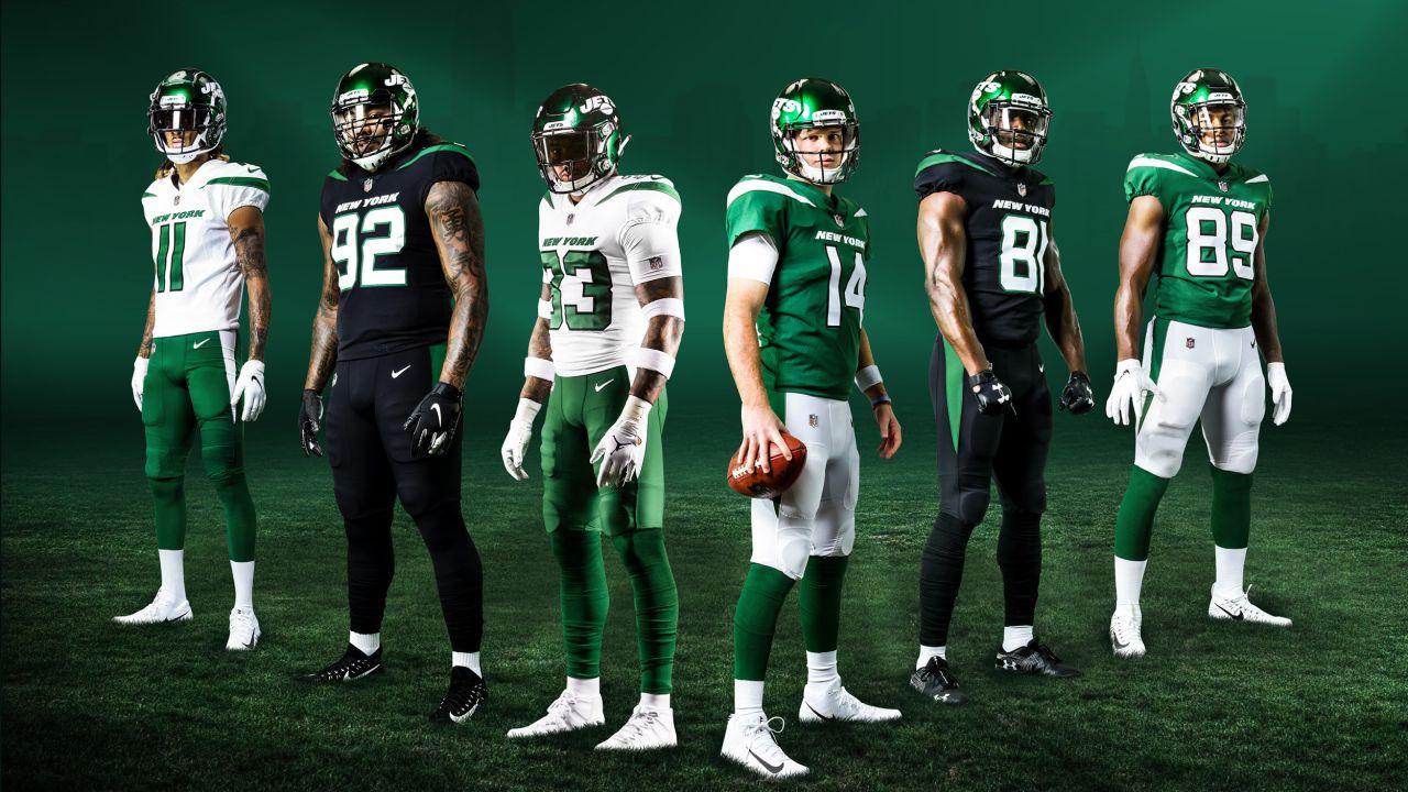New York Jets new uniforms revealed