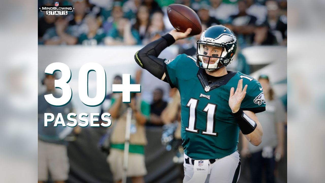Mind Blowing Stats For Carson Wentz