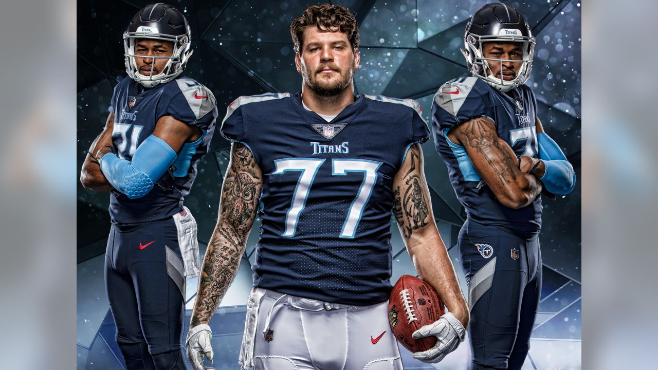 Tennessee Titans new uniforms revealed
