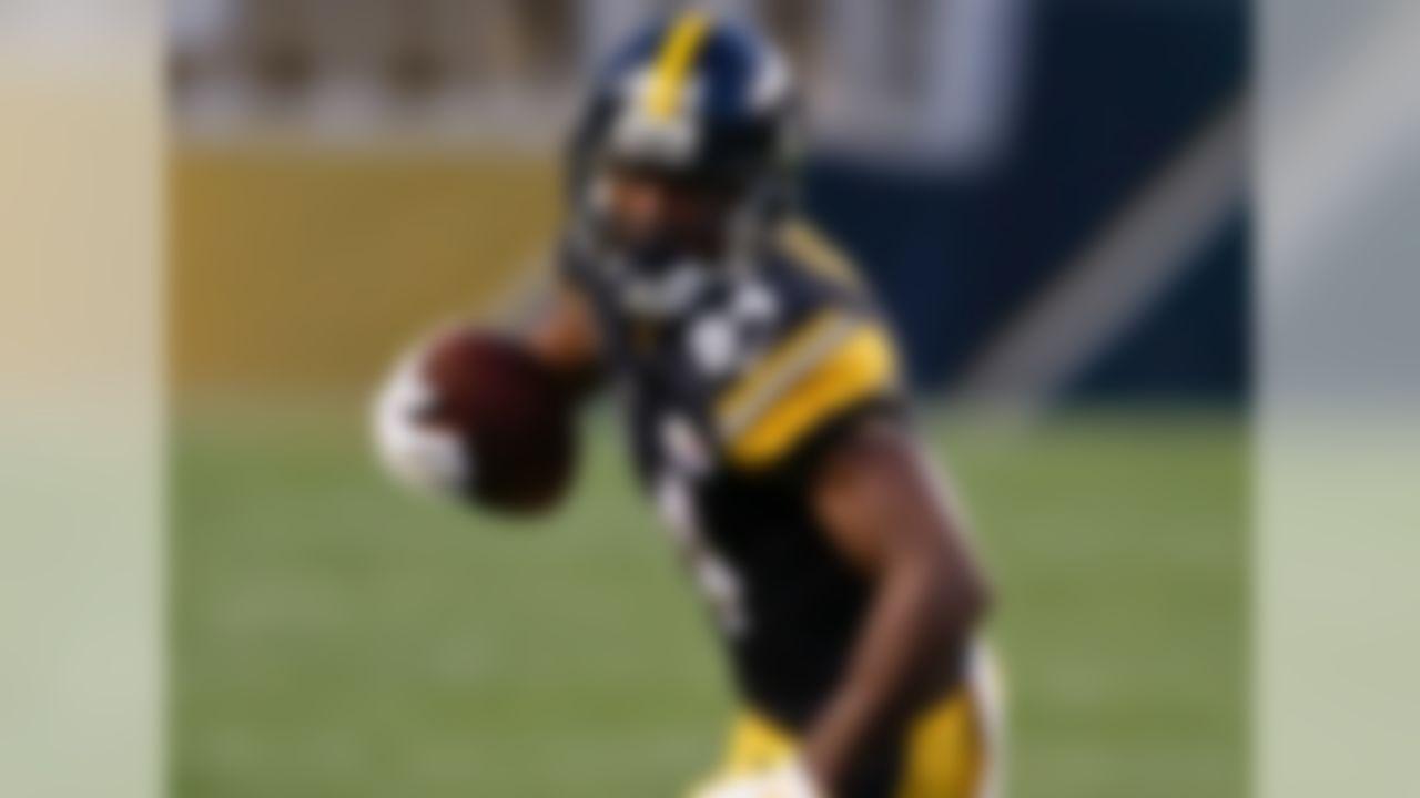 1. Antonio Brown, WR, Steelers