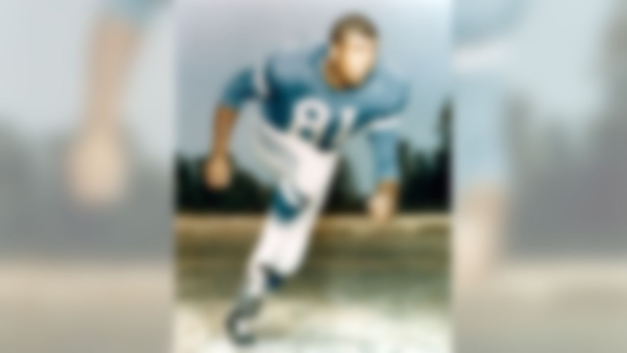 """Dick """"Night Train"""" Lane of the Detroit Lions in an undated photo. (National Football League)"""