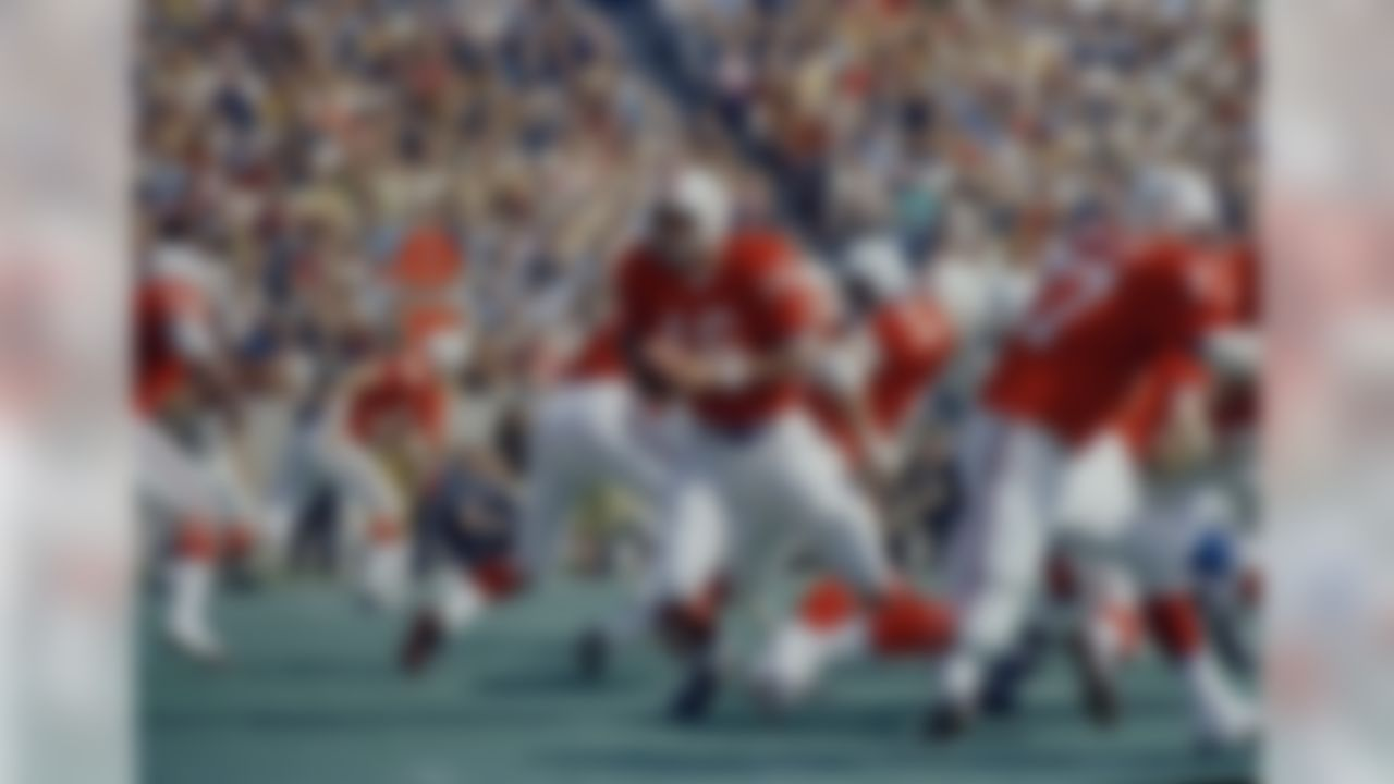 1971, New England Patriots - 19 touchdowns (AP Photo/J. Walter Green)
