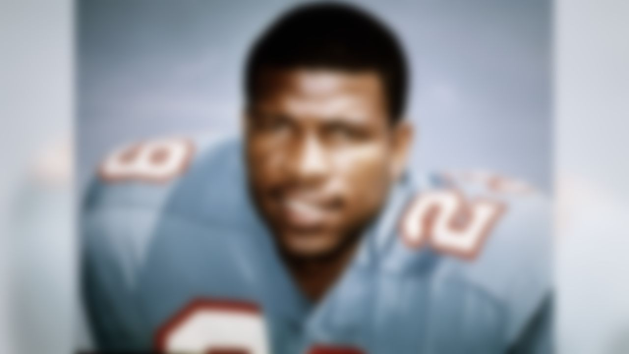 Houston Oilers Hall of Fame safety Ken Houston in 1970. (Photo by NFL Photos)