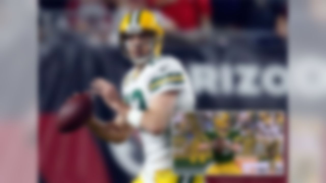 AARON RODGERS, QB, PACKERS - 96 OVR