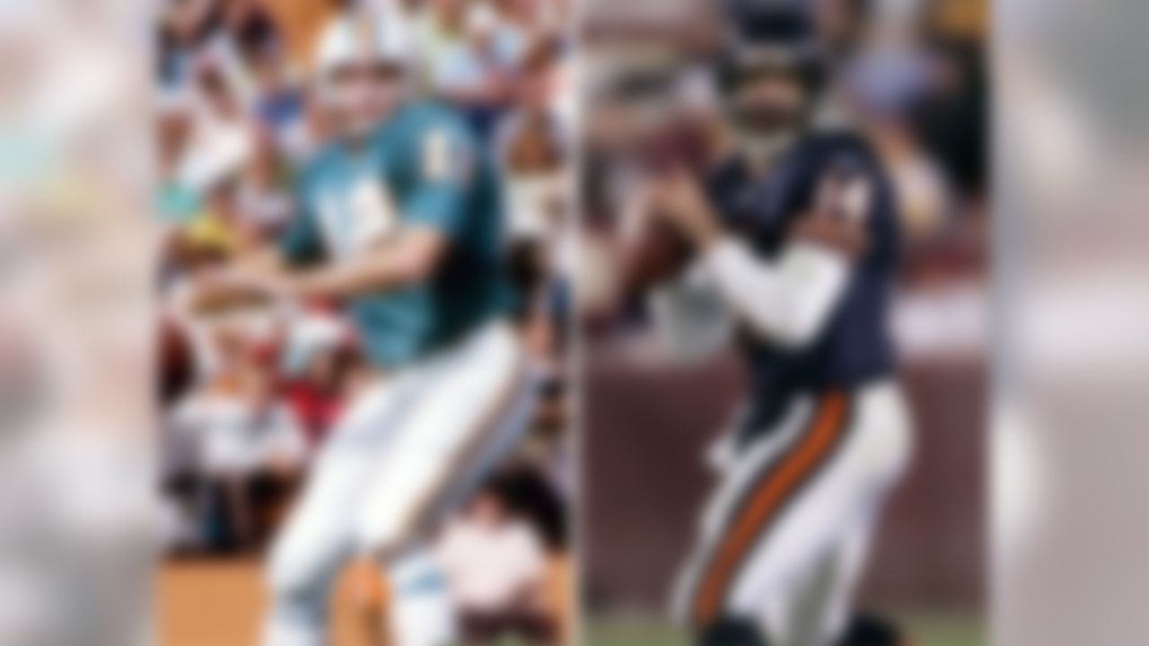 Dolphins QB BOB GRIESE, father of BRIAN GRIESE...  (Photos by US Presswire)