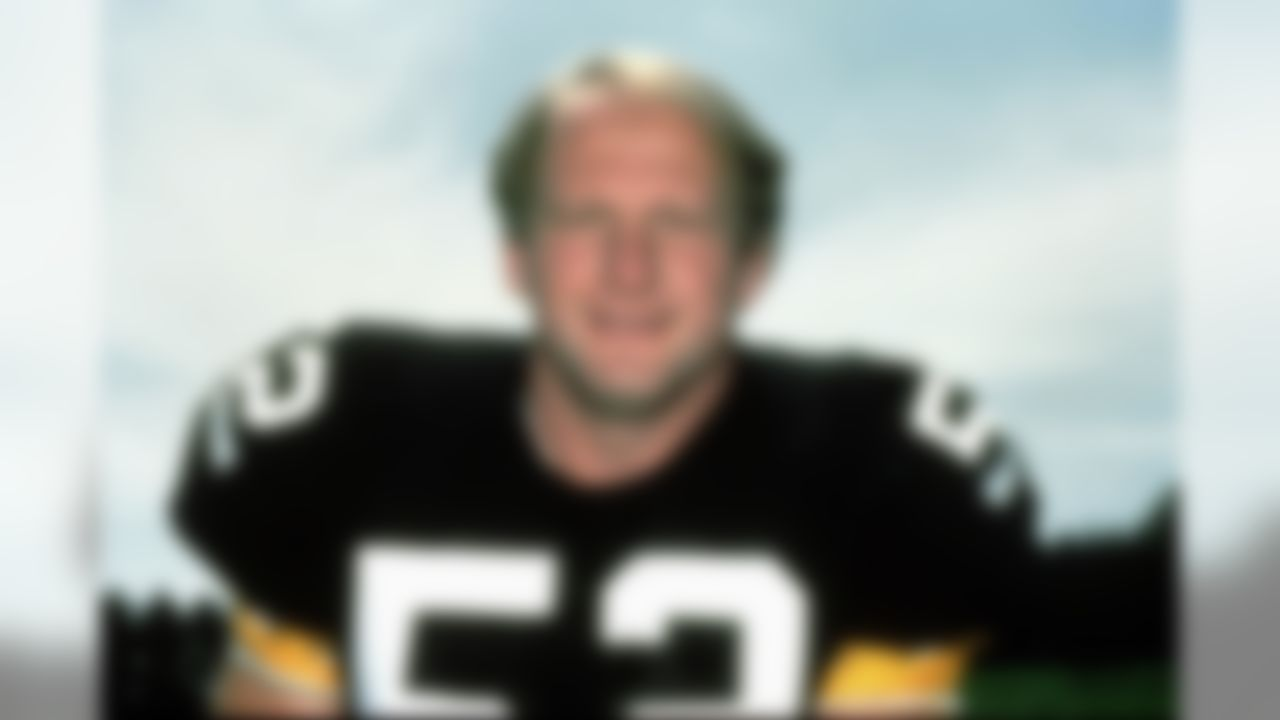 Pittsburgh Steelers center Mike Webster poses for a team headshot.  (National Football League)