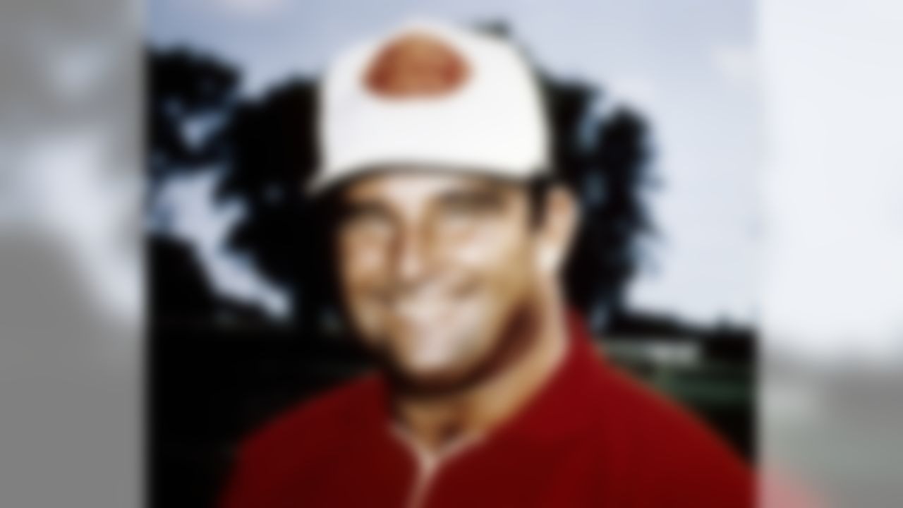 Kansas City Chiefs Hall of Fame head coach Hank Stram in 1970. (Photo by NFL Photos)