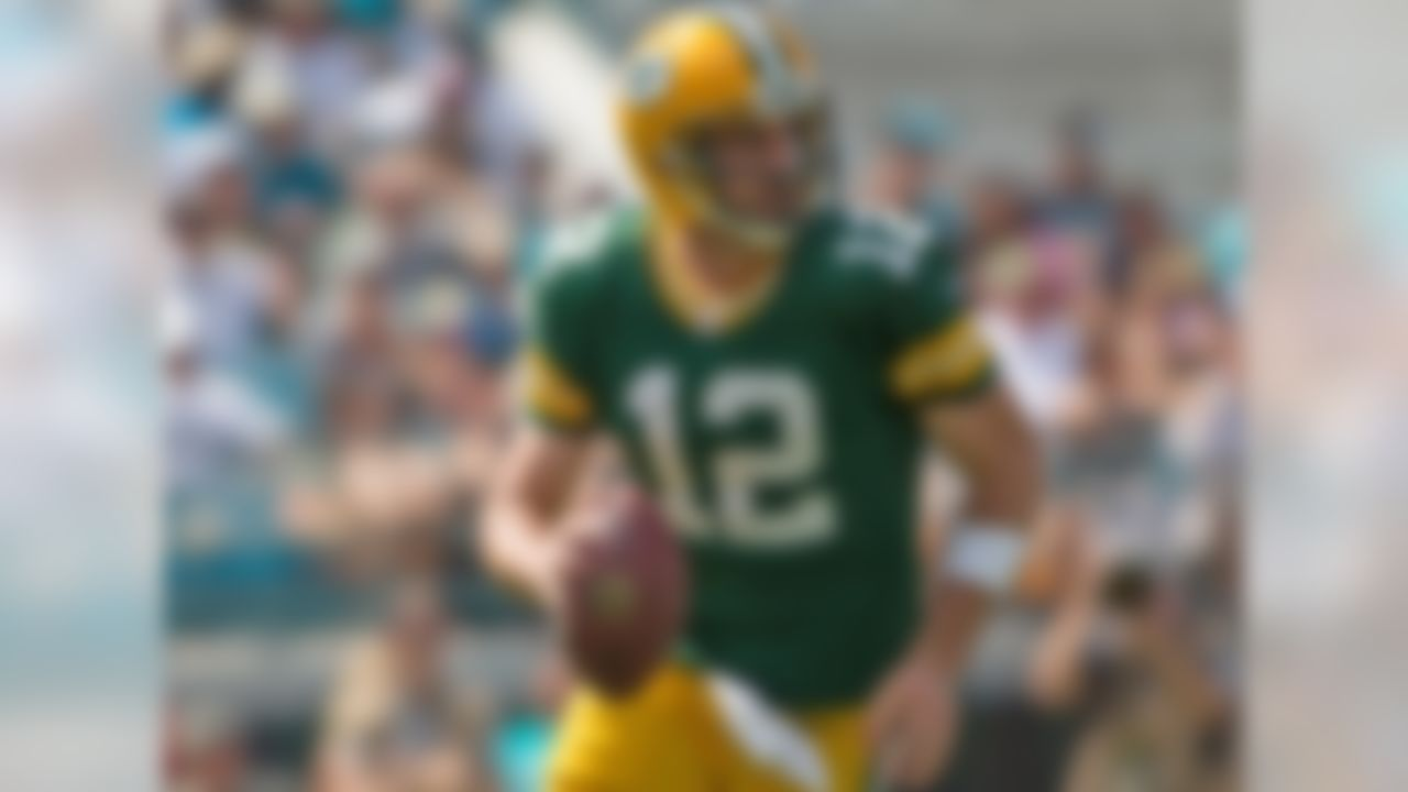 Against Ramsey, Rodgers had a passer rating of 78.5 with 0 touchdowns and 0 interceptions.