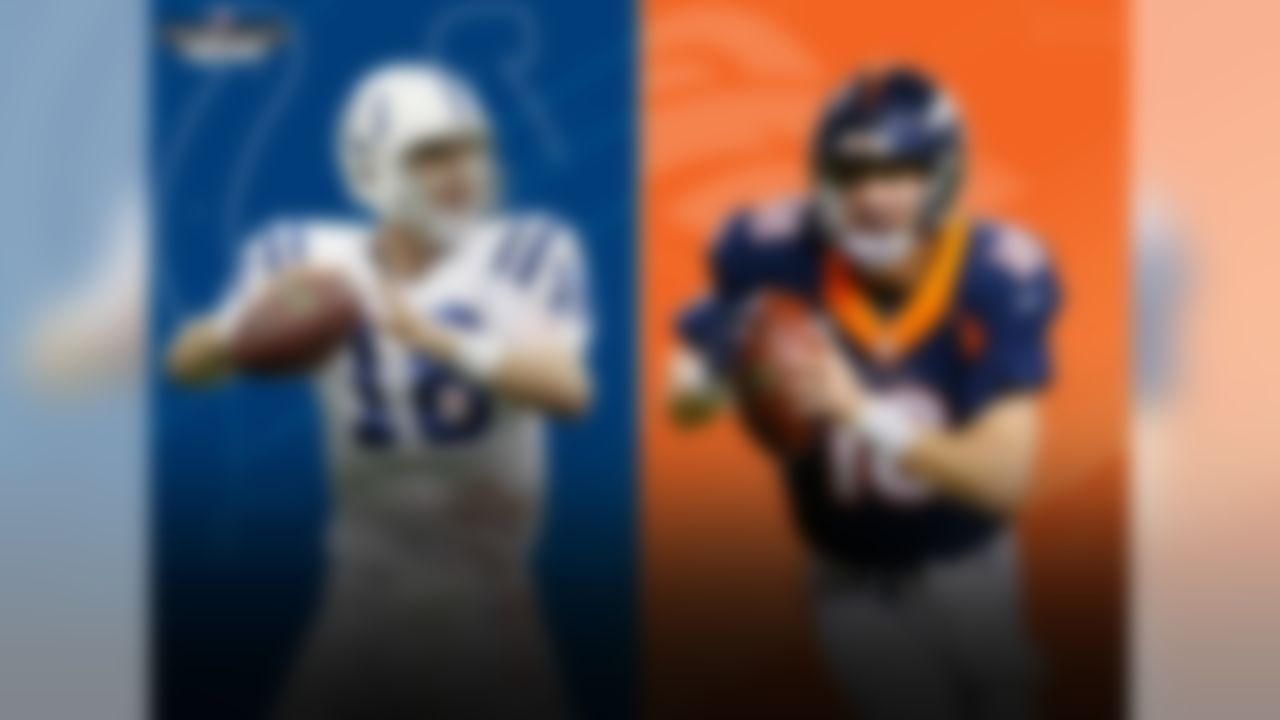 This will be the first Colts-Broncos game without Peyton Manning involved since Week 5, 1993, when John Elway was the Broncos starting QB and Tim Allen's Home Improvement was the No. 1 sitcom on TV.