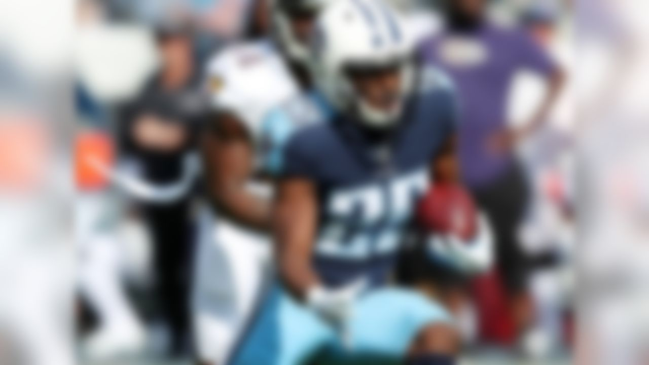 Adoree' Jackson was the first-round pick by Tennessee Titans in 2017 NFL Draft (18th overall).Through just 9 career NFL games, Jackson has already shown his versatility. On defense, Jackson has 37 total tackles (1 tackle for loss), 9 passes defensed and one forced fumble, and on offense, he has 4 carries for 50 yards.    Notable Defensive Performance: (2016 - USC) 5 INT in his final season with the Trojans  Notable Offensive Performance: (2015 - USC) 3 receptions for 131 yards and 1 TD   Notable Accolades at USC: 2016 First-Team All-American, 2016 Pat Tillman Defensive Player of the Year (Pac-12) and 2016 Jim Thorpe Award (nation's most outstanding defensive back)