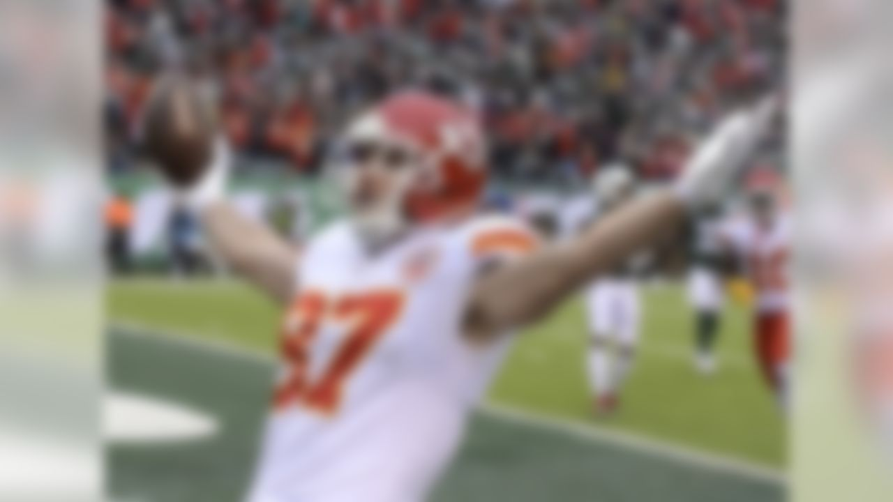1. Travis Kelce, TE, Kansas City Chiefs