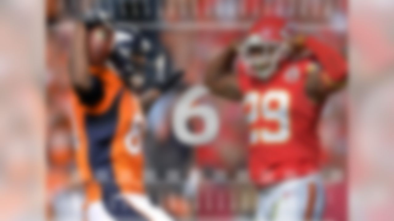 Two teams remain unbeaten this season: The Denver Broncos and Kansas City Chiefs, both in the AFC West. This marks the second time since the NFL broke into divisions in 1933 that two teams within the same division won their first six games in a season.