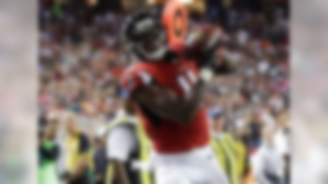 It's no surprise that Week 1's top fantasy wide receiver gets the honor of being our No. 1 ranked player for Week 2. Jones collected 141 yards and two touchdowns against the Eagles last week. Now, he faces a Giants' secondary which surrendered 157 receiving yards on 14 receptions to the Dallas receiving corps on Sunday night. Make sure Jones is locked and loaded for your Week 2 matchup.