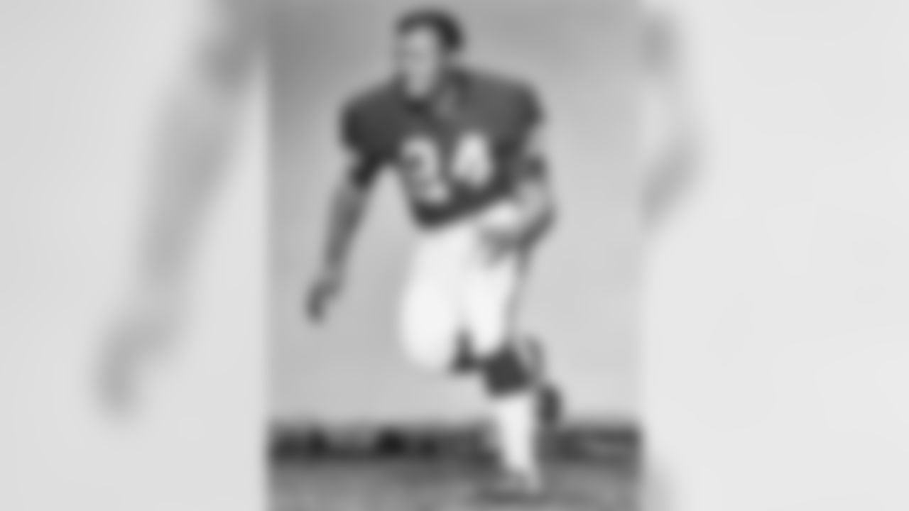 Oakland Raiders Hall of Fame cornerback Willie Brown (24) shown circa 1960s.