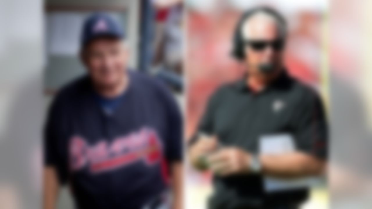 The Braves went from 65-97 in 1990 to 94-68 in 1991, Bobby Cox's first full year as manager.  The Falcons went from 4-12 in 2007 to 11-5 in 2008, Mike Smith's first year as head coach.