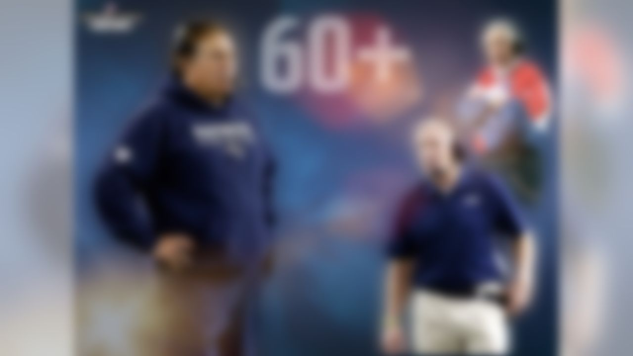 Age is nothing but a number: Bill Belichick will become the sixth head coach to be more than 60 years old when he joins Pete Carroll at Super Bowl XLIX. This will be the first Super Bowl with two head coaches both 60 or older. Former Bills head coach Marv Levy is the oldest head coach to appear in a Super Bowl, with his fourth and final appearance coming at the age of 68 years old.